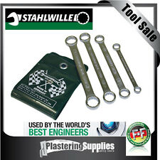 Stahlwille 4 Piece Metric Short Ring Spanner Set Swvp21/4