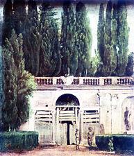 "Velazquez - A Garden at The Villa Medici, Rome (1650) Canvas Art Poster 24""x 28"""