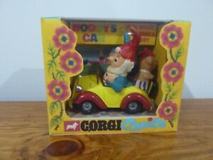 NODDY CORGI CAR # 804 WITH BIG EARS & TUBBY BEAR  EXCELLENT CONDITION REPRO BOX