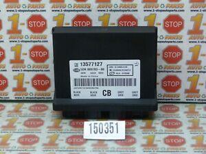 2010 2011 10 11 CADILLAC SRX THEFT LOCKING CONTROL MODULE 13577127 OEM
