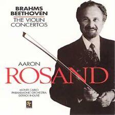 CD BRAHMS BEETHOVEN VIOLIN CONCERTO AARON ROSAND
