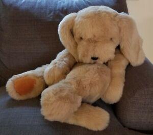 "Jumbo 36"" GUND Golden Retriever Dog   Plush Stuffed NO YEAR Polyester Fibers"