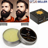 Beard Balm Wax Mustache Hair Growth Conditioner Care Softener Cream Moisturizing