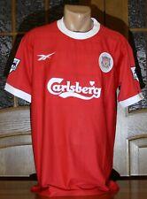 Liverpool FC 1998/99 Home Football Shirt Gerrard #28
