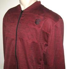 NEW 4XB ROCAWEAR MENS JACKET Zippered Coat Dark Red 4XL 4X