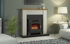 Be Modern Ravensdale Electric Stove Inset Fireplace Suite in Stone