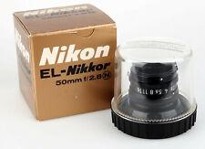 Nikon EL-Nikkor 50mm 2,8 Enlarger Lens good condition 406775