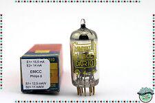 E88CC / 6922 Philips Δ Vacuum Tube, Valve, Röhren, test emiss, mut. conduc. USED