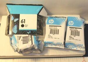 HP 61 BLACK INK CARTRIDGE EMPTY - LOT OF 4