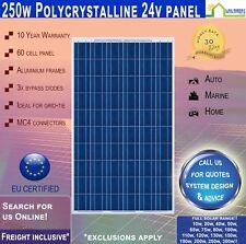 250W 24V Solar Panel Poly 250 Watt 24 V ~ Freight Inclusive ~ 10 Yr Wty ~