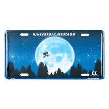 "Universal Studios 10"" E.T. Extra Terrestrial Metal License Plate New"