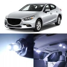 11 x Xenon White Interior LED Lights Package For 2014 - 2018 Mazda 3 +TOOL