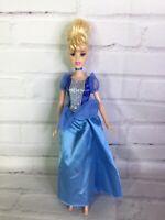 Mattel Disney Princess Cinderella Doll With Blue Dress 2005