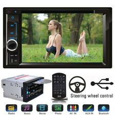 """Mirror Link 6.2"""" Touchscreen Double Din BLUETOOTH MP3 DVD CD Player Car Stereo"""