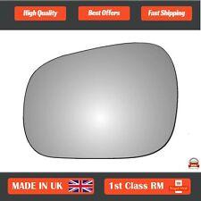 Left Passenger Convex Wing Mirror Glass for Suzuki Grand Vitara 1999-2005 206LS