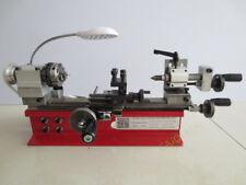DIY Mini Desktop Lathe Instrument Home Laboratory Lathe 4 Jaw Chuck 65mm