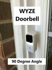Wyze Angle 90 degree angled mount/bracket for WYZE Video Doorbell(NOT INCLUDED!)