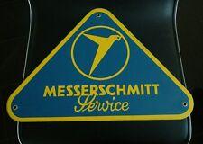 """Messerschmitt KR200 KR201 Tiger TG500 porcelain advertising sign...16"""" wide"""