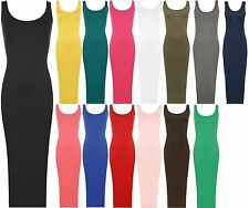 Patternless Casual Regular Size Maxi Dresses for Women