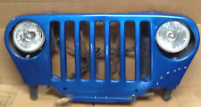 1999 JEEP WRANGLER GRILLE WITH HEADLIGHTS AND HARNESS OEM