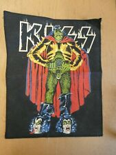 VINTAGE KISS GENE SIMMONS THE DEMON BACK PATCH