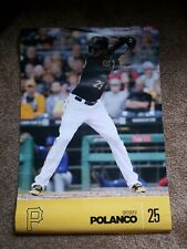 New MLB  Pittsburgh Pirates Gregory Polanco 2ft× 3ft SGA Poster