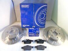 Ford Focus Mk2 Rear Brake Discs and Pads Set 265MM 2004-2012 *GENUINE BRAKEFIT*