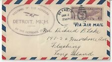 1930 FFC Welcome to the Pioneers of the Denmark Trail,  Detroit Mich 2