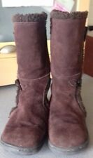 Rocket Dog Calf brown suede boots sz 8