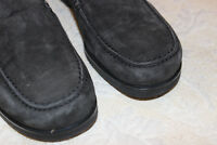 """NEW Womens COACH """"Zora"""" Made in Italy Black Suede Loafers Shoes Sz 8B"""