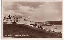 Devon; Plymouth, The Marine Laboratory RP PPC, 1934 Plymouth PMK