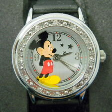 New Disney Mickey Mouse Watch Boxed Stars Water Resistant 100 Feet Japan Movemnt