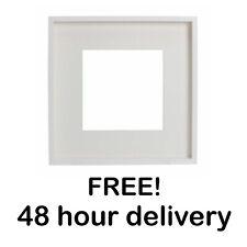 IKEA RIBBA PHOTO PICTURE FRAME WHITE MOUNT 23CM X 23CM DECO WALL ART GIFT