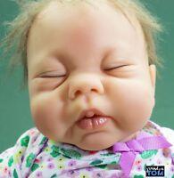 HUTI B ADG 04 ANATOMICALLY CORRECT BABY GIRL DOLL Reborn Ashton Drake