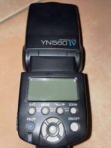 Yongnuo YN560 IV Kabellos Blitz Licht Speedlite für Canon Nikon Sony Pentax DSLR