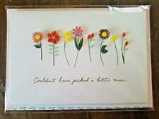 MOTHER'S DAY Greeting Card *SIGNATURE* Hallmark garden flowers family MOM