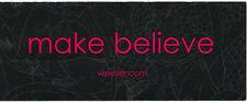 Weezer Make Believe Rare promo sticker '05