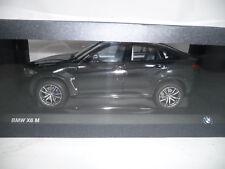 BMW x6 f16 BLACK SAPPHIRE 1:18 Paragon spacciatori VERY RARE