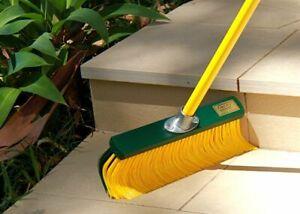 Rake Broom Outdoor 45cm, telescopic handle included
