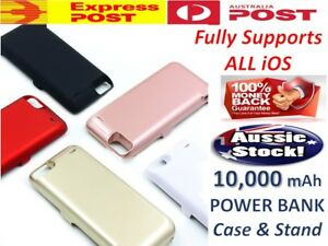 Battery External Power bank Charger Case Charging Cover For iPhone 6s 7 8 6 Plus