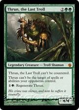 THRUN, THE LAST TROLL Mirrodin Besieged MTG Green Creature — Troll Shaman MYTHIC
