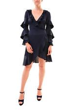 Keepsake Women's Love Bound Wrap Dress 410-Navy Size S RRP £128 BCF77