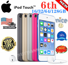 NEW Apple iPod Touch 6th Generation 16/32/64/128GB All Colors, sealed-best gift.