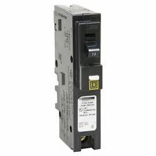 HomeLine Hom115Pcafic Cafci Miniature Standard Circuit Breaker, 120/240 V, 15