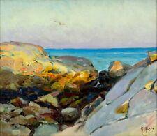 Mathias Joseph Alten (MI,CA,1871–1938) oil painting antique