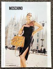 2011 Vogue Magazine Art Advert Ad Picture Moschino Juergen Teller Yasmin Le Bon