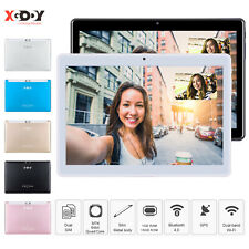 "XGODY 10.1"" Inch Tablet PC Android 16/32GB Quad Core HD WIFI Dual SIM Phablet US"