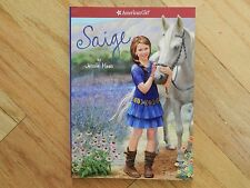 EUC Excellent Condition Saige American Girl Book