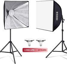 ESDDI Softbox 900W LED Lighting Kit Professional Photo Studio Equipment
