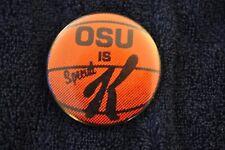 "Very Rare Ohio State Basketball Pinback ""OSU is Special K"" 1981 Clark Kellogg"